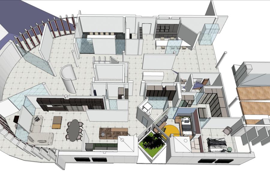 the SmartHouse 150mq – Il quadrilocale