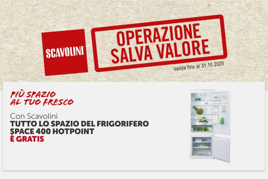 Promo Scavolini Hotpoint